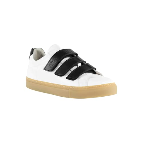 Edition 44 sneakers basses blanches et noires