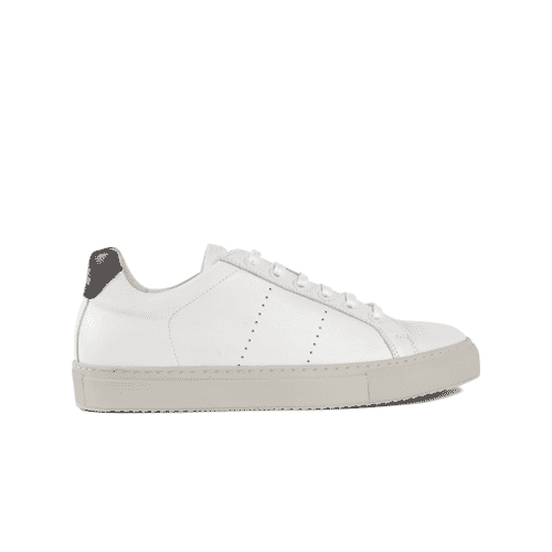 Edition 4 sneakers basses blanches semelle carta
