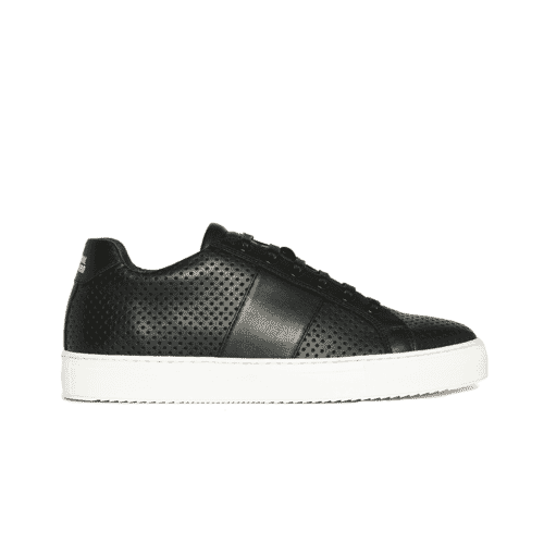 NEW Edition 4 sneakers basses noires perfo