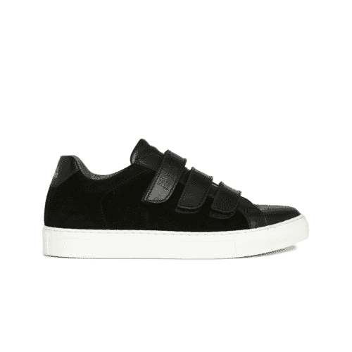 Edition 44 black low sneakers