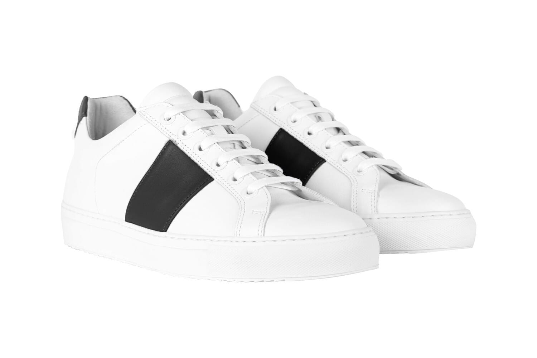 Edition 4 blanche bande noire