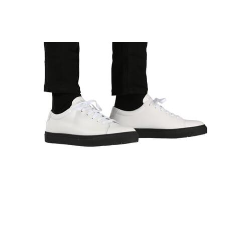 Edition 3 blanche semelle noire