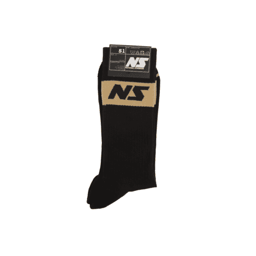 Black and Beige Socks