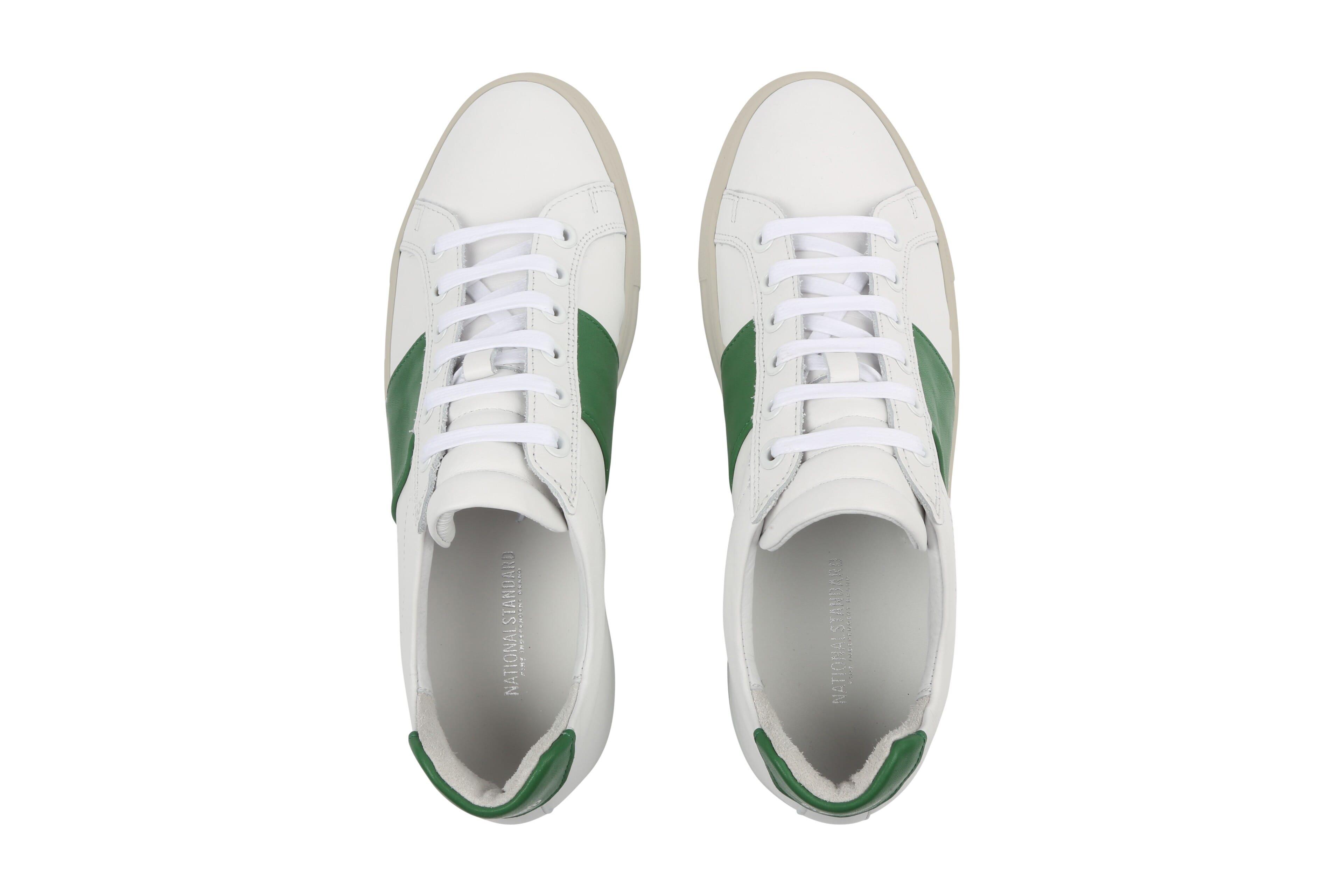 Edition 4 blanche bande verte