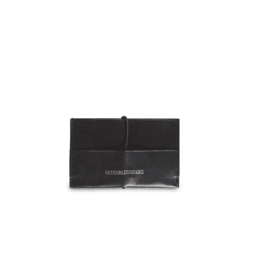 Porte clés cuir noir