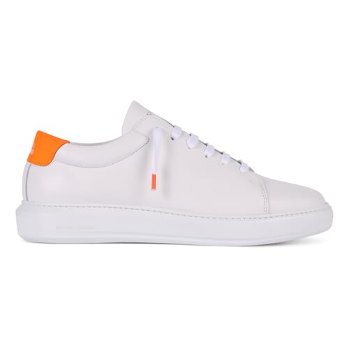 EDITION 3 WHITE ORANGE RUBBER